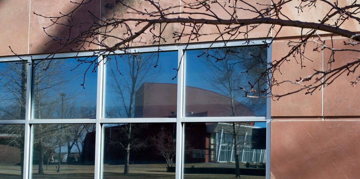 Adams State campus reflection