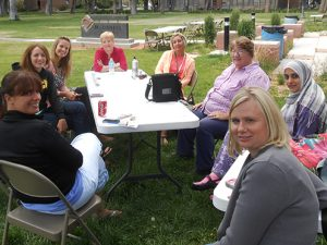 Counselor Education students at June intensive