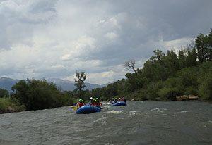 rafting in the Rio Grande