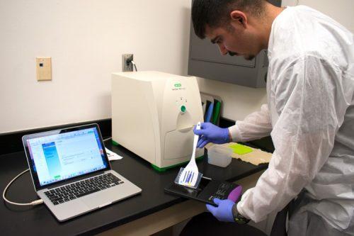 molecular biology lab