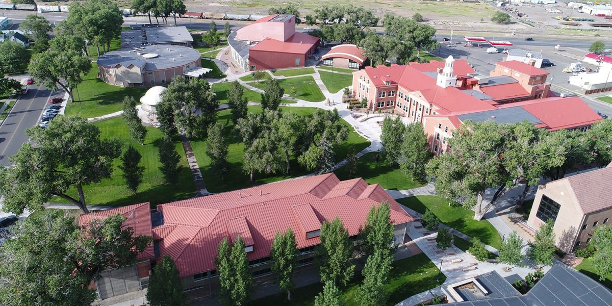 South Aerial of Adams State Campus