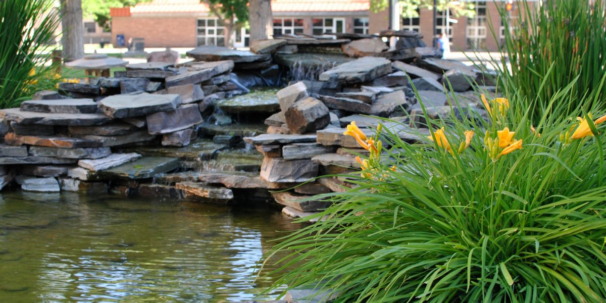 Adams State campus Japanese Memorial Garden