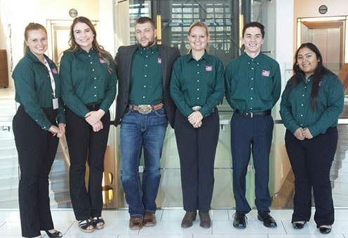 Collegiate Farm Bureau members