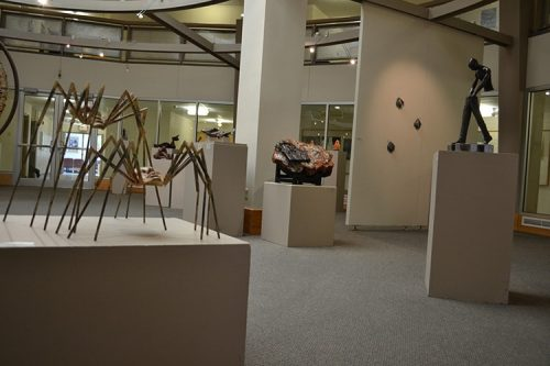 Snook Gallery in the Art Building