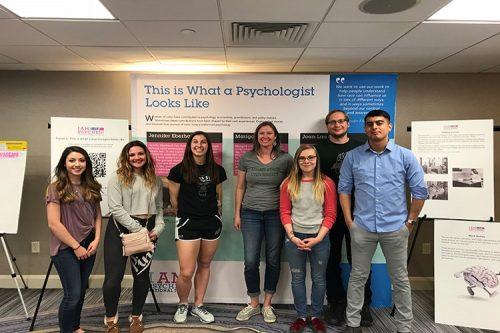 psychology club students
