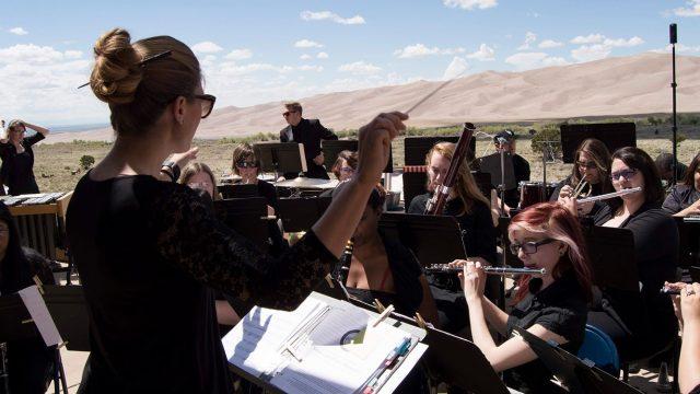 Sand Dunes concert