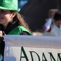 Adams State Homecoming parade banner