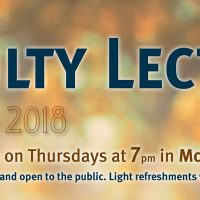 ASU Faculty Lecture Series