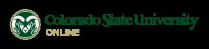 Colorado State University Online Rams Logo