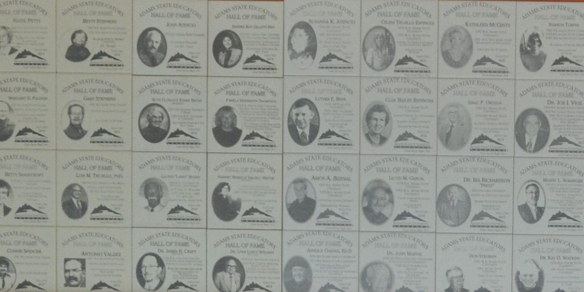 Educators Hall of Fame Wall