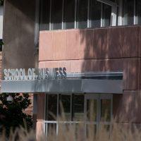 school of business building