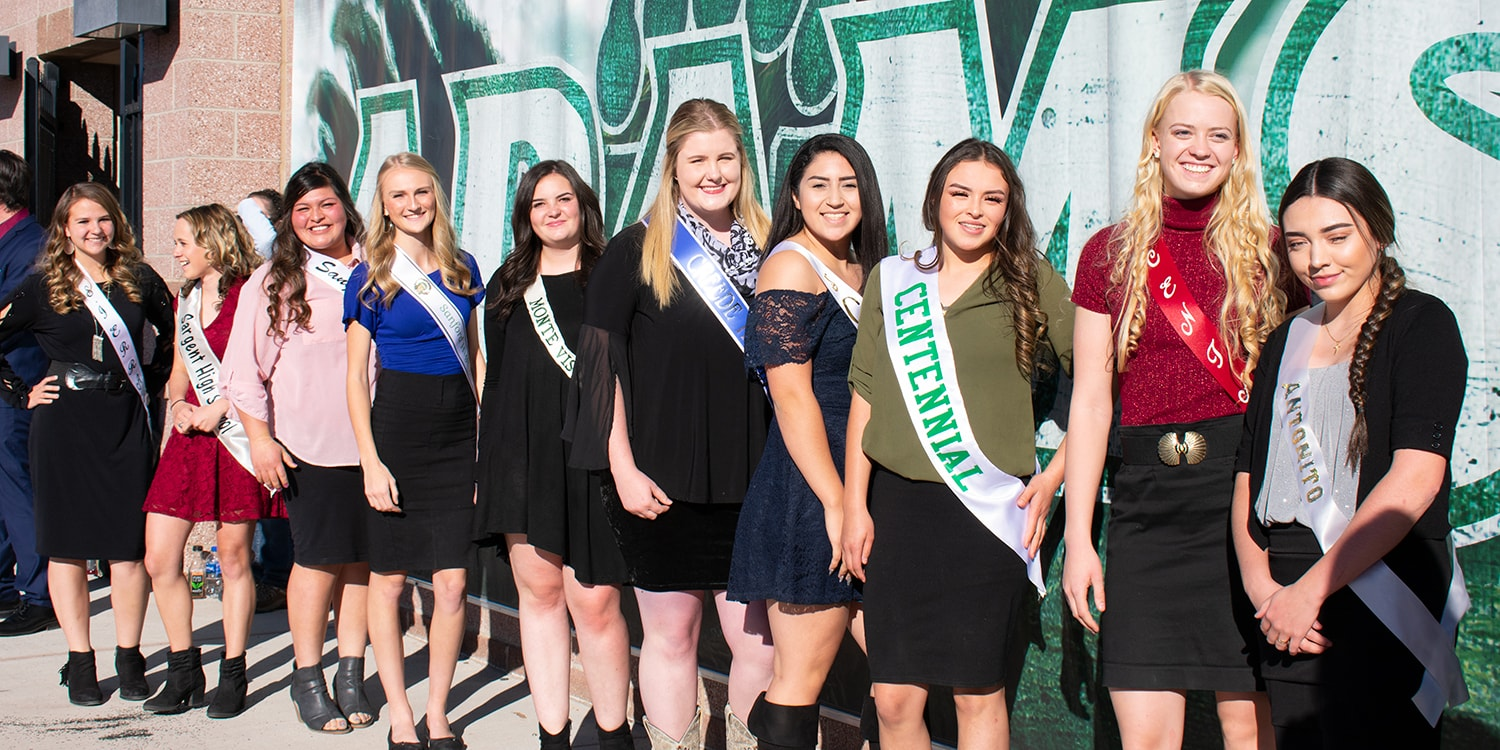 2018 Spud Bowl Queen Candidates