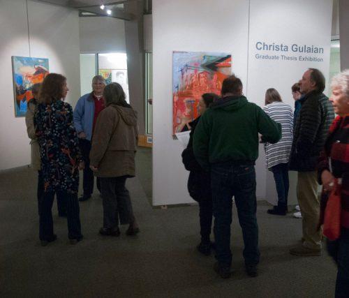Christa Gulaian's Graduate Exhibit Fall 2018