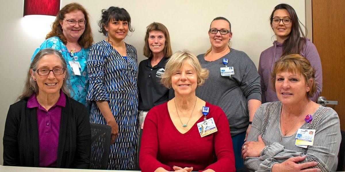 Members of the grant team