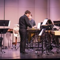 percussion concert fall 2018
