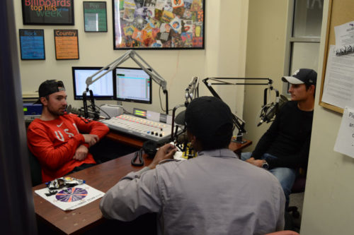 KASF Grizz Radio Students doing a talk show