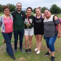 Eva Rayas, Alejandro Tovar, Alyssa Tovar, Mariah McDermott, and Miriam Esquivel
