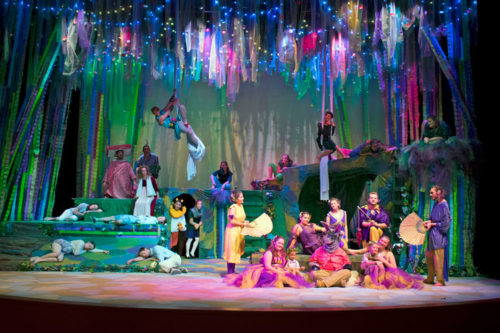 Theatre production of a Midsummer Nights Dream