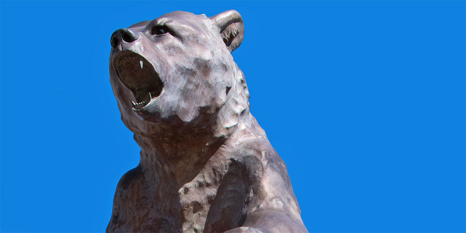 Old Mose Grizzly Sculpture
