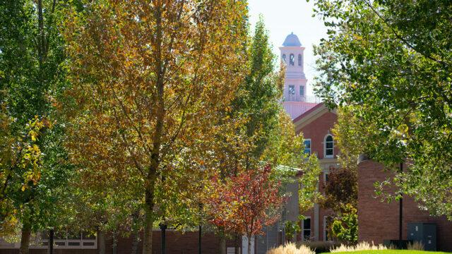 ASU Fall Foliage on Campus