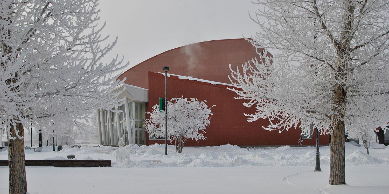 ASU Theatre Building in 2019 Winter