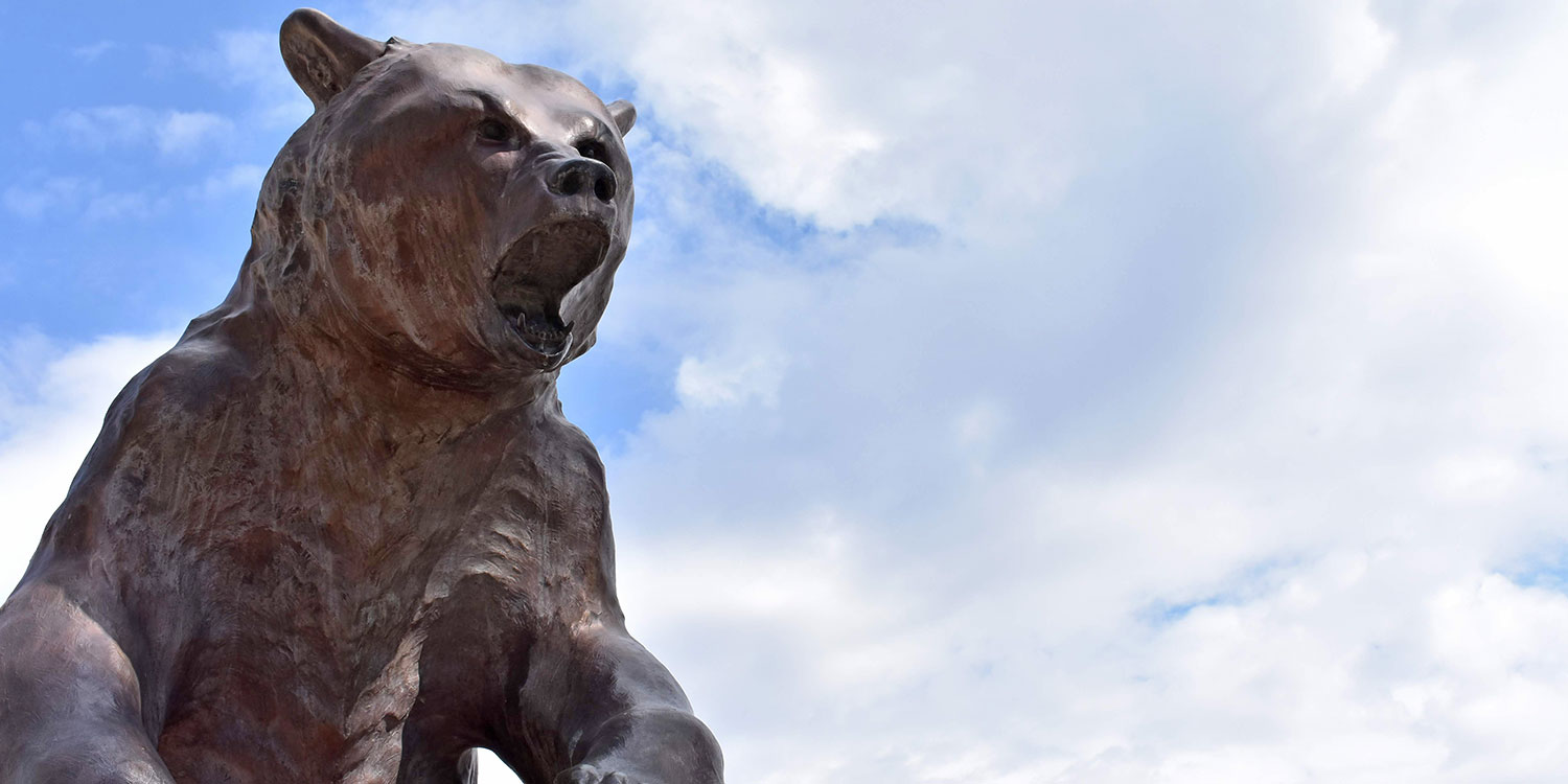 ASU Mascot Grizzly Old Mose