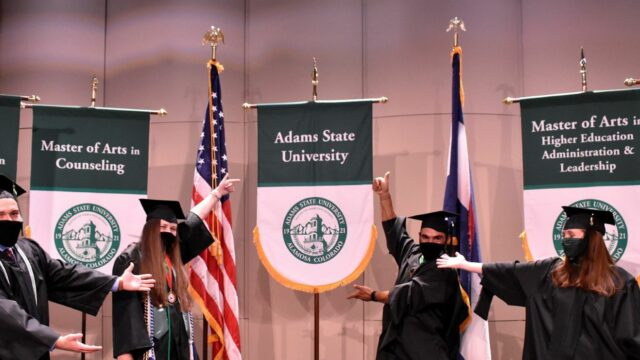 Adams State Virtual Spring 2020 Commencement