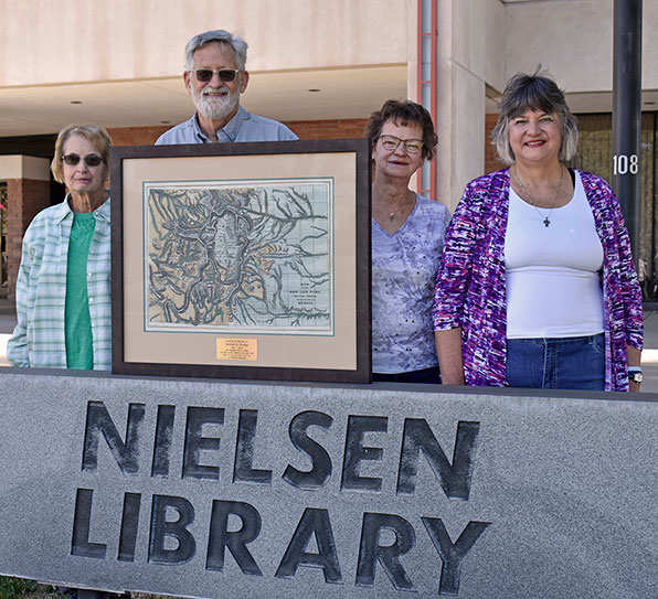 Knapp family donates SLV historical map