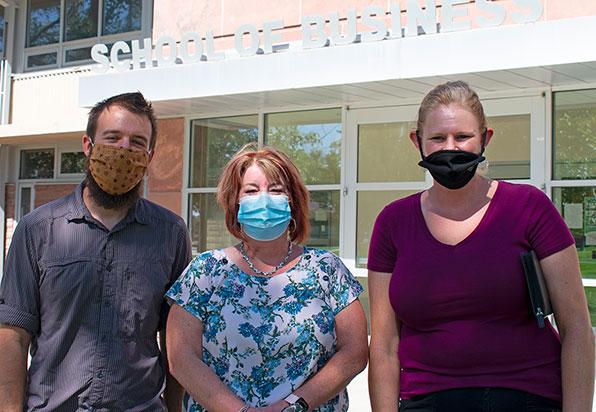 Kyle Glenn, Liz Thomas Hensley, Deanna Bartee