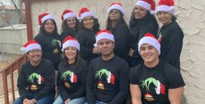 Migrant Education Program Staff Christmas Photo