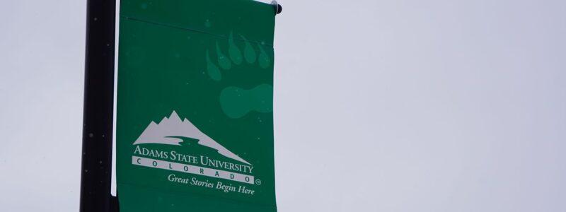 Adams State Banner