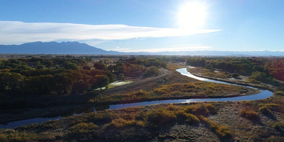 Mt. Blanca with Rio Grande