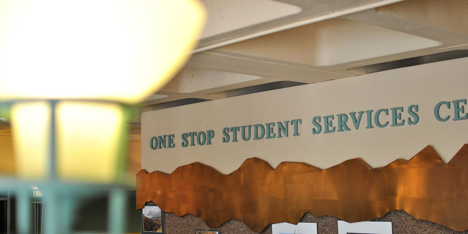 Adams State One Stop Student Services