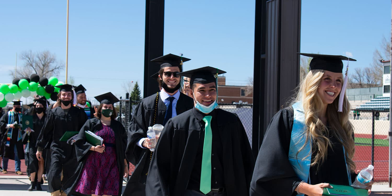 Adams State Undergraduate Commencement Ceremony
