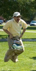 Ken Marquez potato sack race