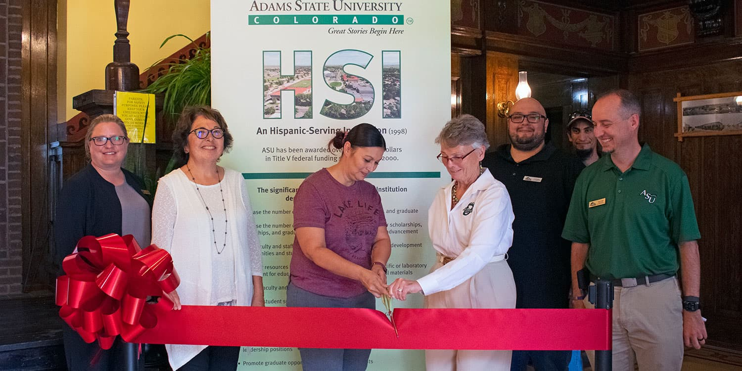 Title V Access Station Ribbon Cutting in Antonito June 28