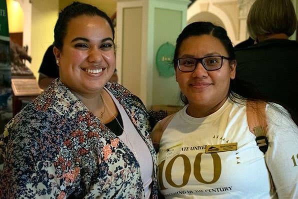 Edith Arias and Marisol Cristobel-Lucas