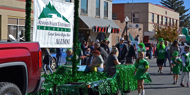 Adams State Homecoming Parade