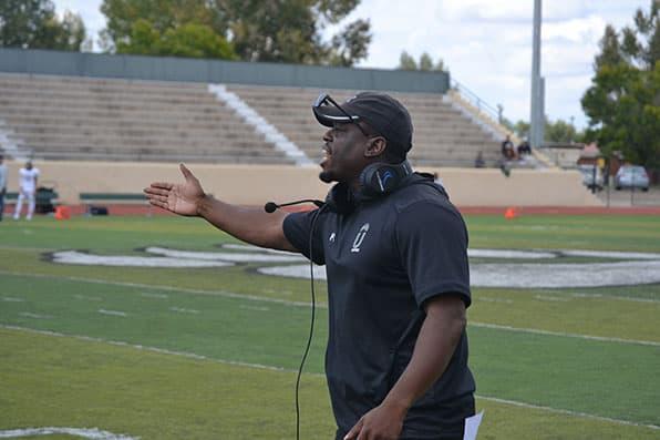 Adams State Head Football Coach Jarrell Harrison