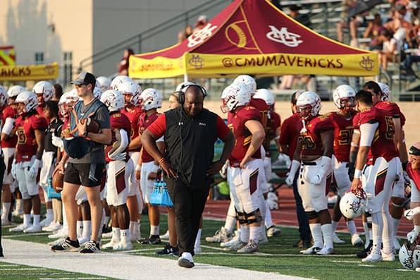 Mesa Head Football Coach Tremaine Jackson